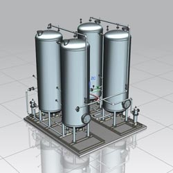 Design & Engineering for CO2 Plant