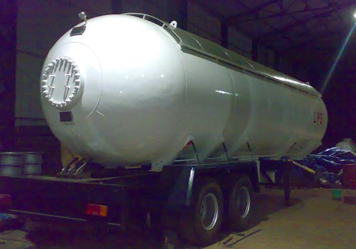Transportation CO2 Tanks